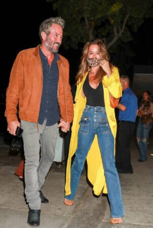 Brooke Burke - Arriving at Craigs in West Hollywood