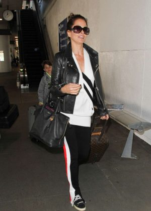 Brooke Burke at LAX airport in Los Angeles
