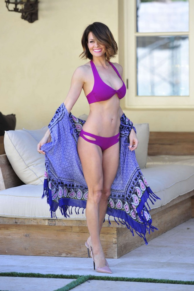 Brooke Burke by Susan Waters Photoshoot in Malibu