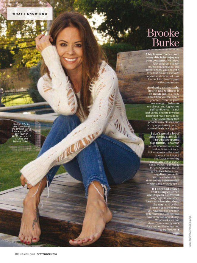 Brooke Burke for Health Magazine (September 2018)
