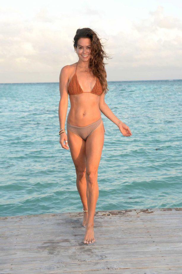 Brooke Burke in Bikini in Cap Cana, Dominican Republic