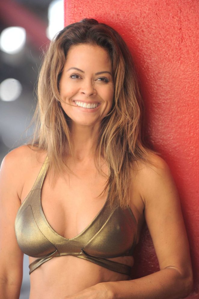 Brooke Burke: In Bikini in Malibu-13