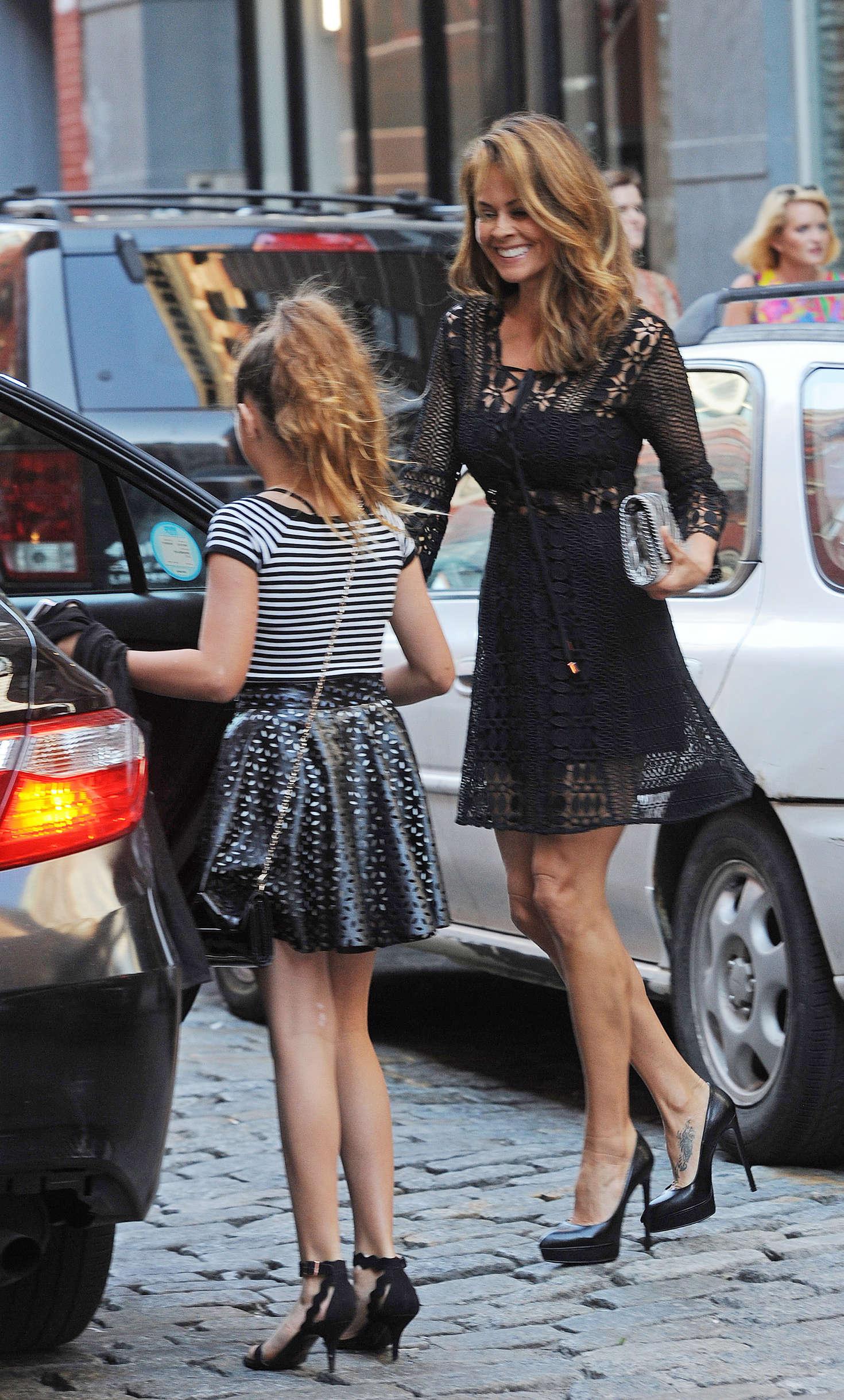 brooke burke in black mini dress 18 gotceleb