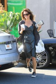 Brooke Burke - Leaves a salon in West Hollywood