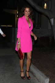 Brooke Burke - Leaving the 'Dog Pound Gym' opening in West Hollywood