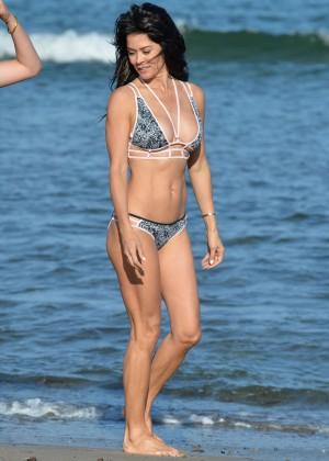 Brooke Burke - Bikini Photoshoot in Malibu