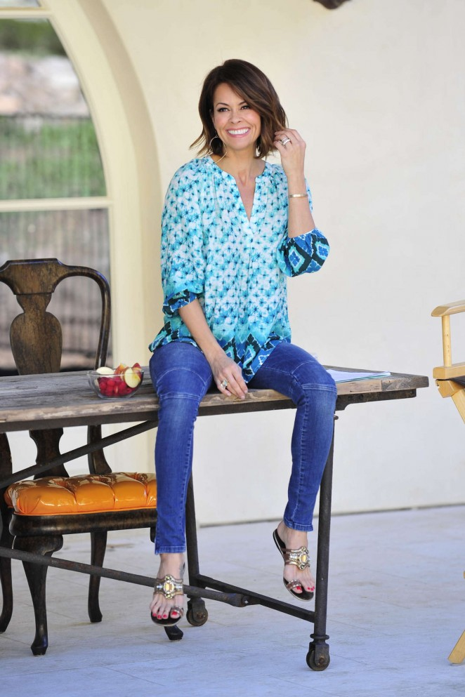 Brooke Burke: Michael Simon Photoshoot 2015 -16
