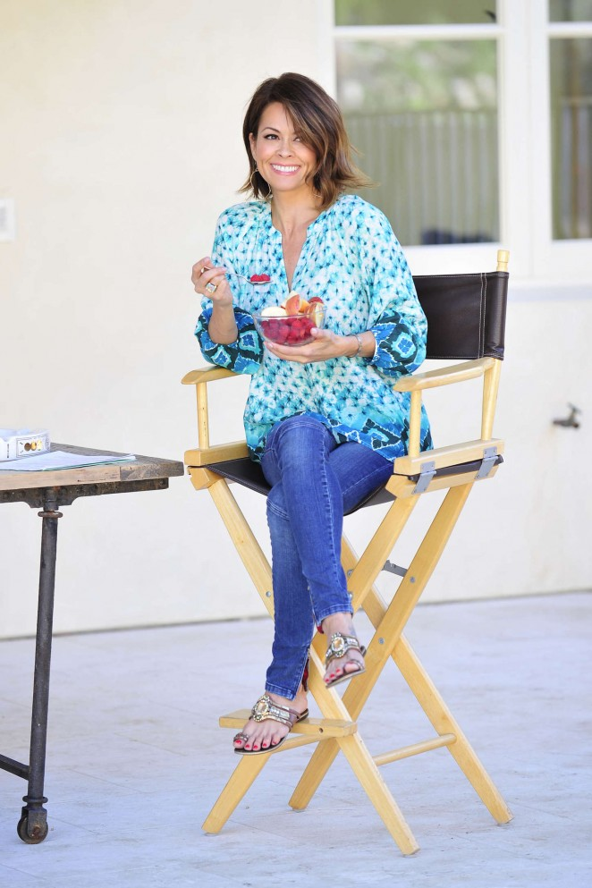 Brooke Burke: Michael Simon Photoshoot 2015 -34