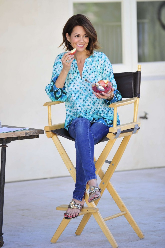 Brooke Burke: Michael Simon Photoshoot 2015 -61