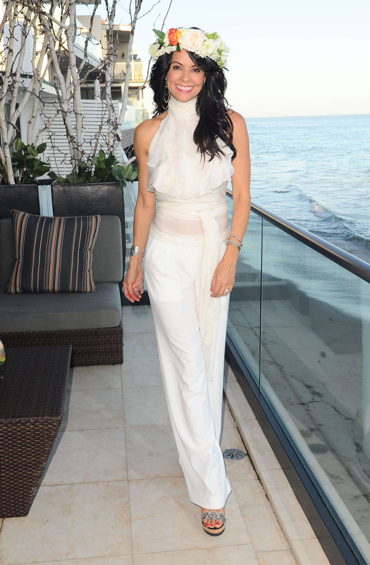 Brooke Burke: Moll Anderson Goddess Party