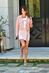 Brooke Burke - Out and about in Los Angeles