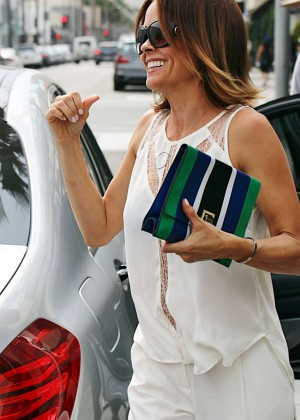 Brooke Burke - Out for lunch lunch in LA