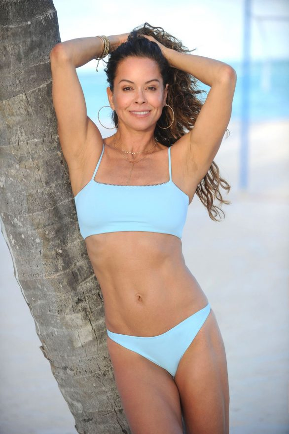 Brooke Burke - Photoshoot On the beach in the Dominican Republice
