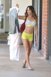 Brooke Burke - Seen while picks up her dry cleaning in Malibu