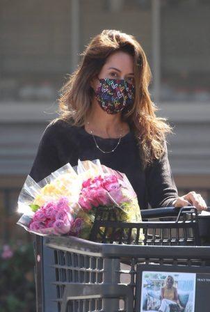 Brooke Burke - Shopping at Ralphs in Malibu
