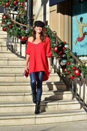 Brooke Burke - Shopping on Small Business Saturday in LA