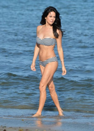 Brooke Burke in Bikini in Malibu