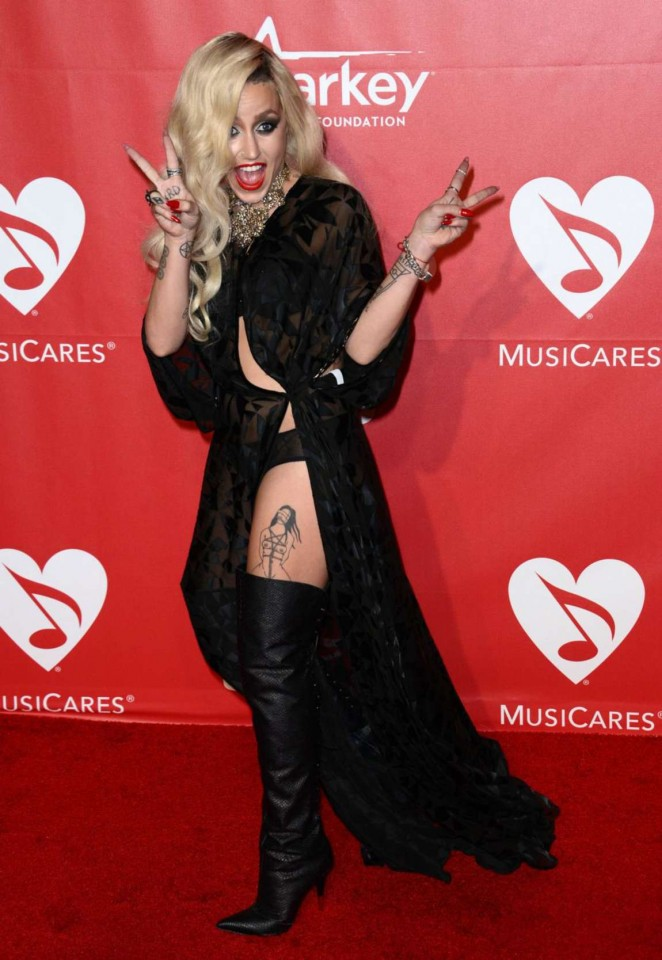 Brooke Candy - 2015 MusiCares Person Of The Year Gala Honoring Bob Dylan in LA
