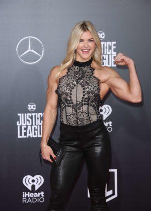 Brooke Ence - 'Justice League' Premiere in LA
