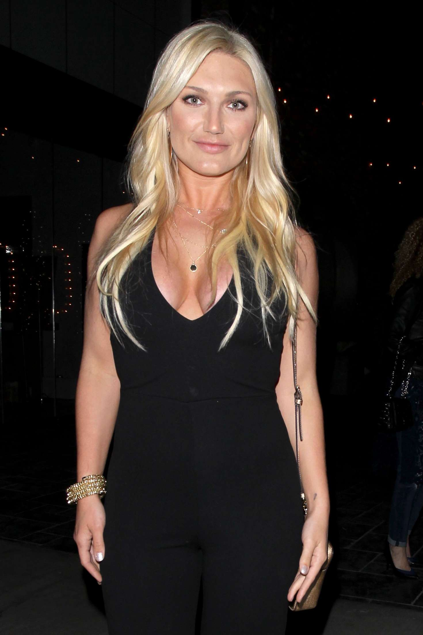 Brooke Hogan at Avenue nightclub in Hollywood