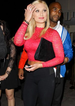 Brooke Hogan at Delilah in West Hollywood