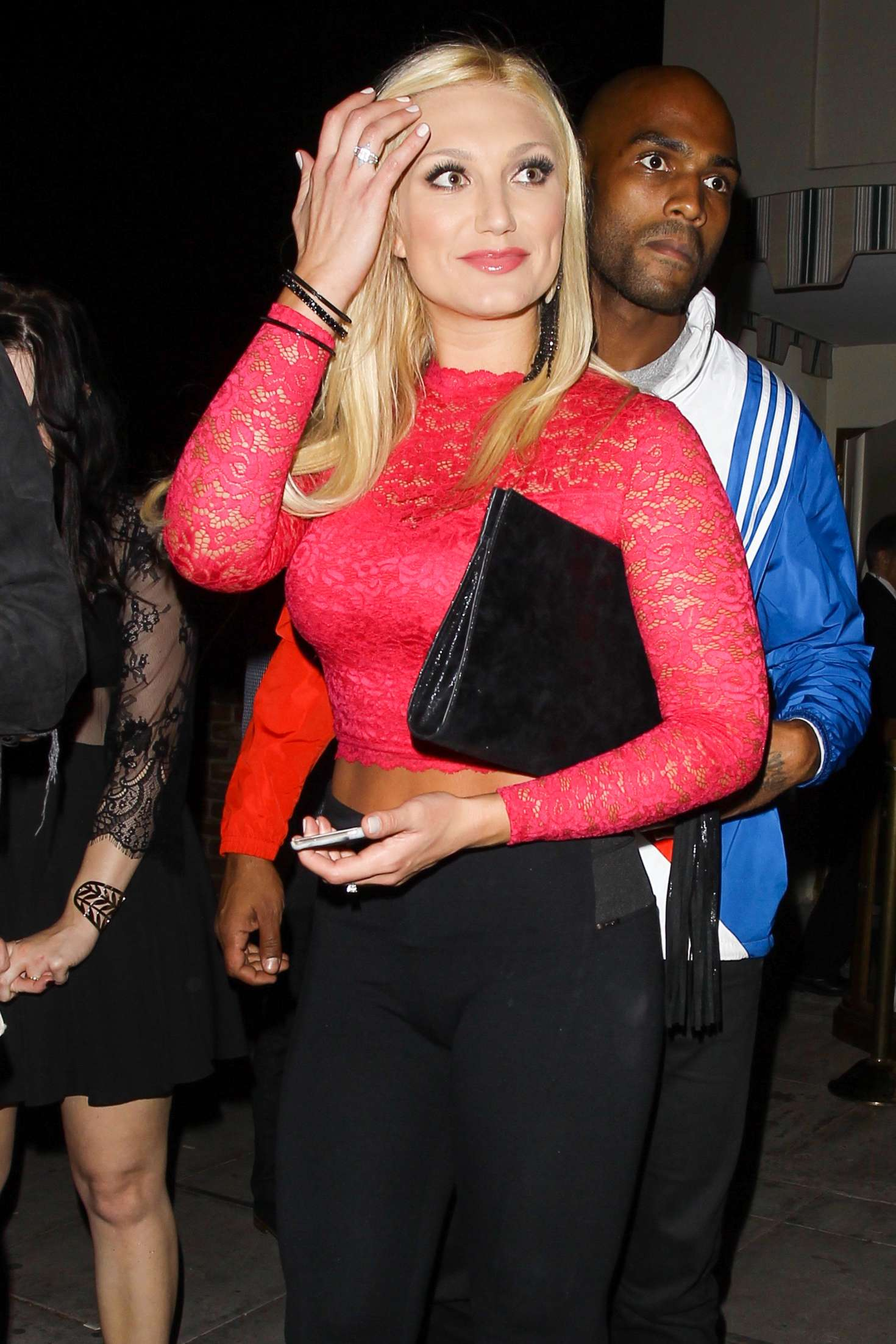 Brooke Hogan at Delilah in West Hollywood