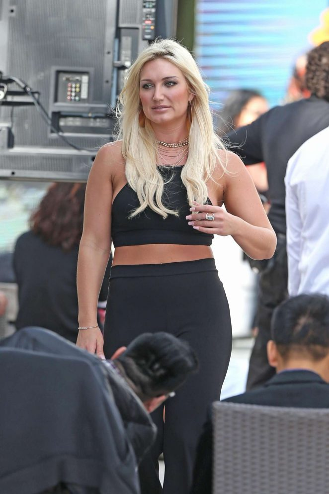 Brooke Hogan at the National Hotel in Miami Beach