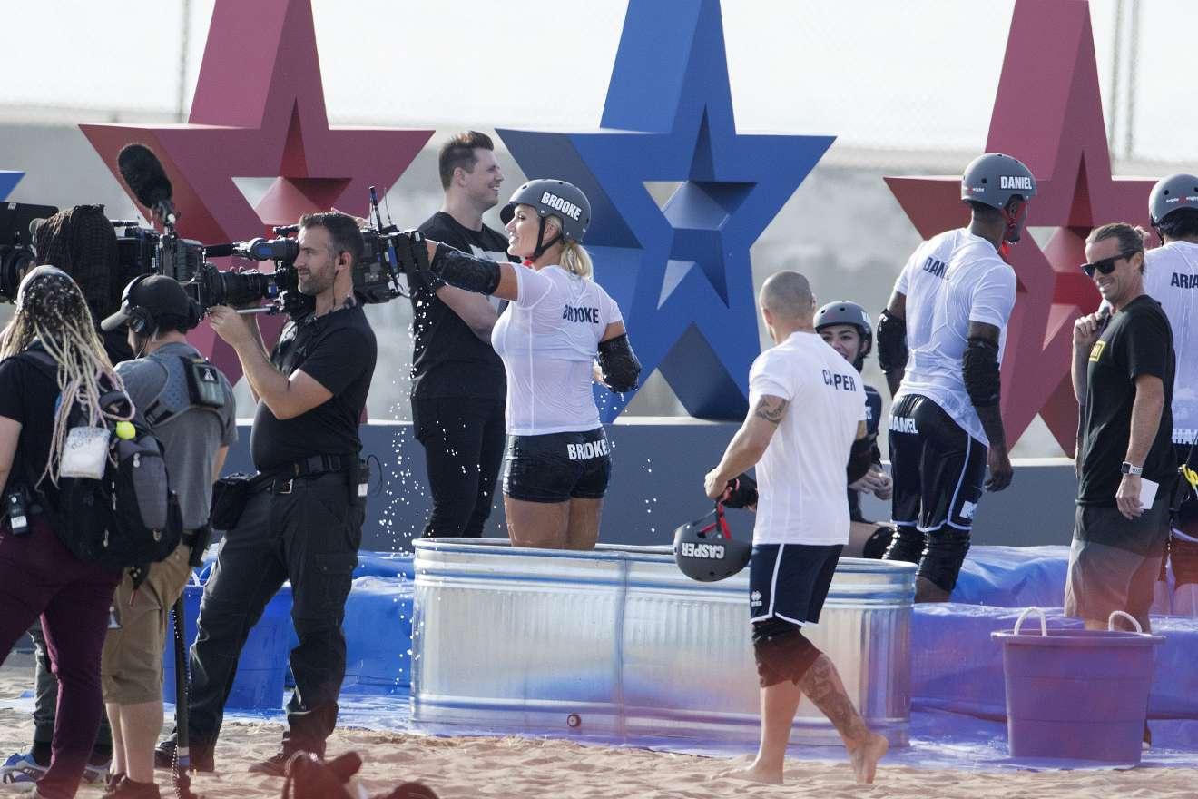 Brooke Hogan 2018 : Brooke Hogan: Champs vs Stars Set in Los Angeles -01