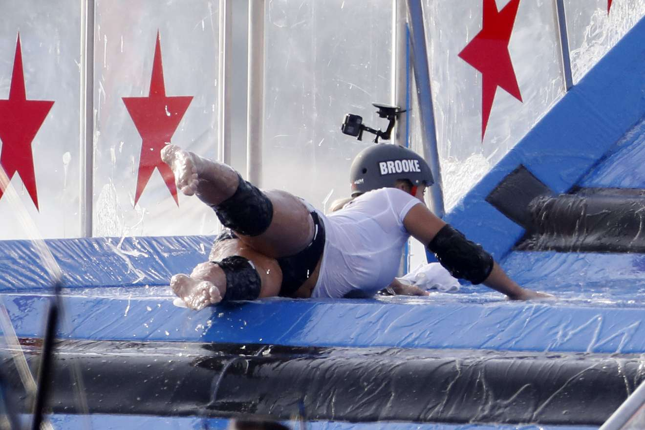 Brooke Hogan 2018 : Brooke Hogan: Champs vs Stars Set in Los Angeles -03