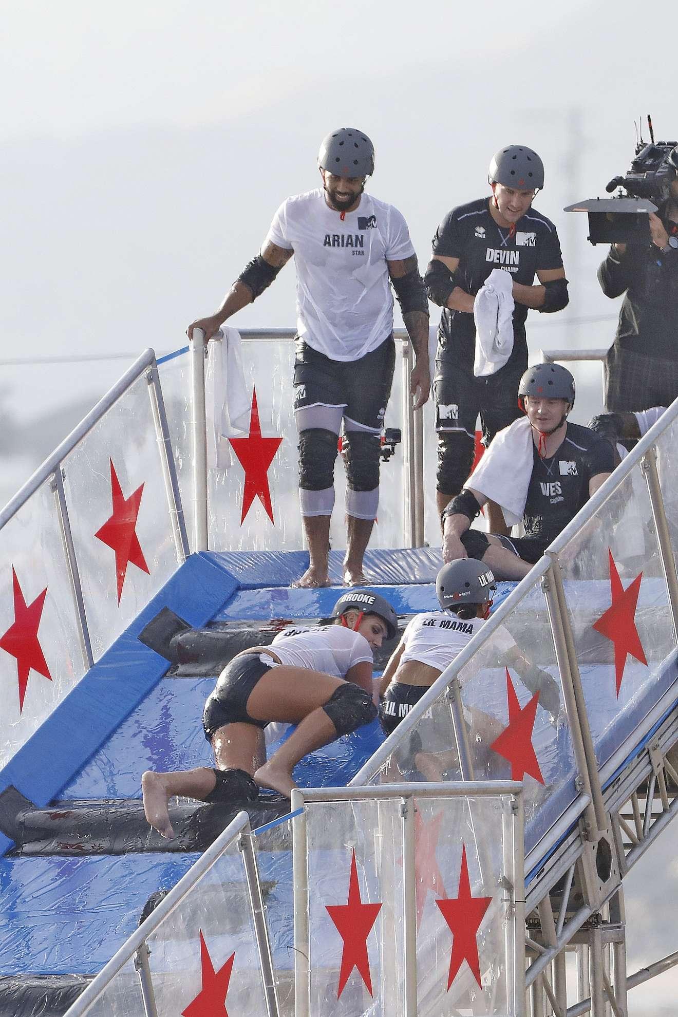 Brooke Hogan 2018 : Brooke Hogan: Champs vs Stars Set in Los Angeles -16