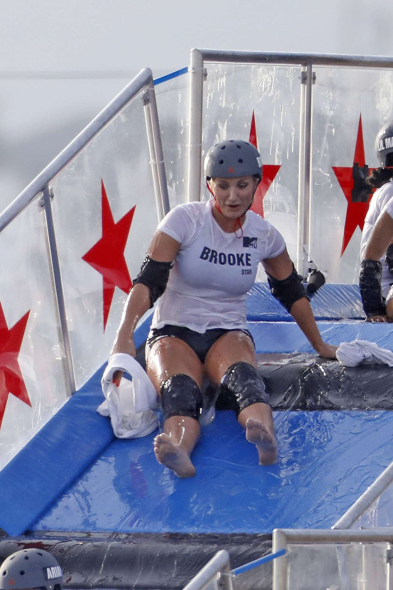 Brooke Hogan 2018 : Brooke Hogan: Champs vs Stars Set in Los Angeles -23