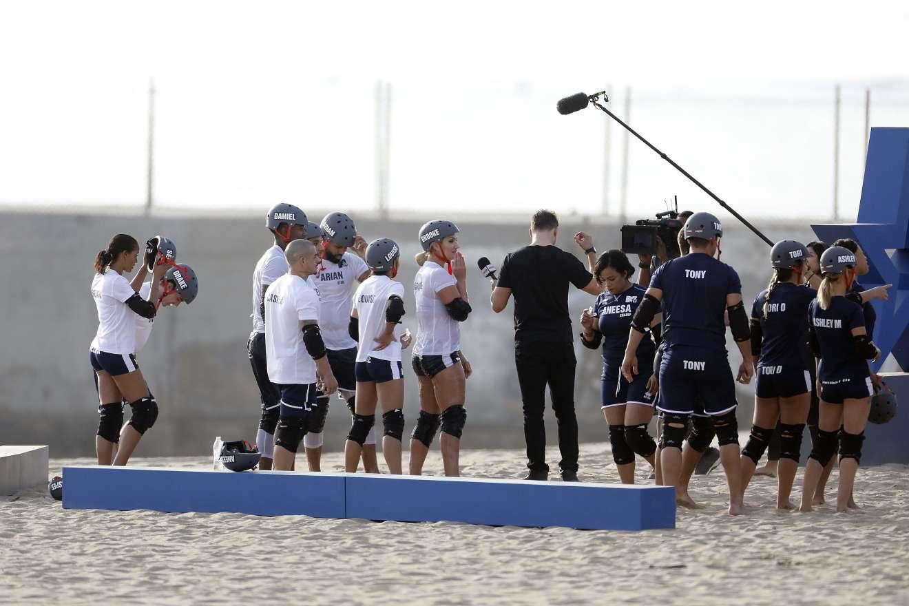 Brooke Hogan 2018 : Brooke Hogan: Champs vs Stars Set in Los Angeles -25