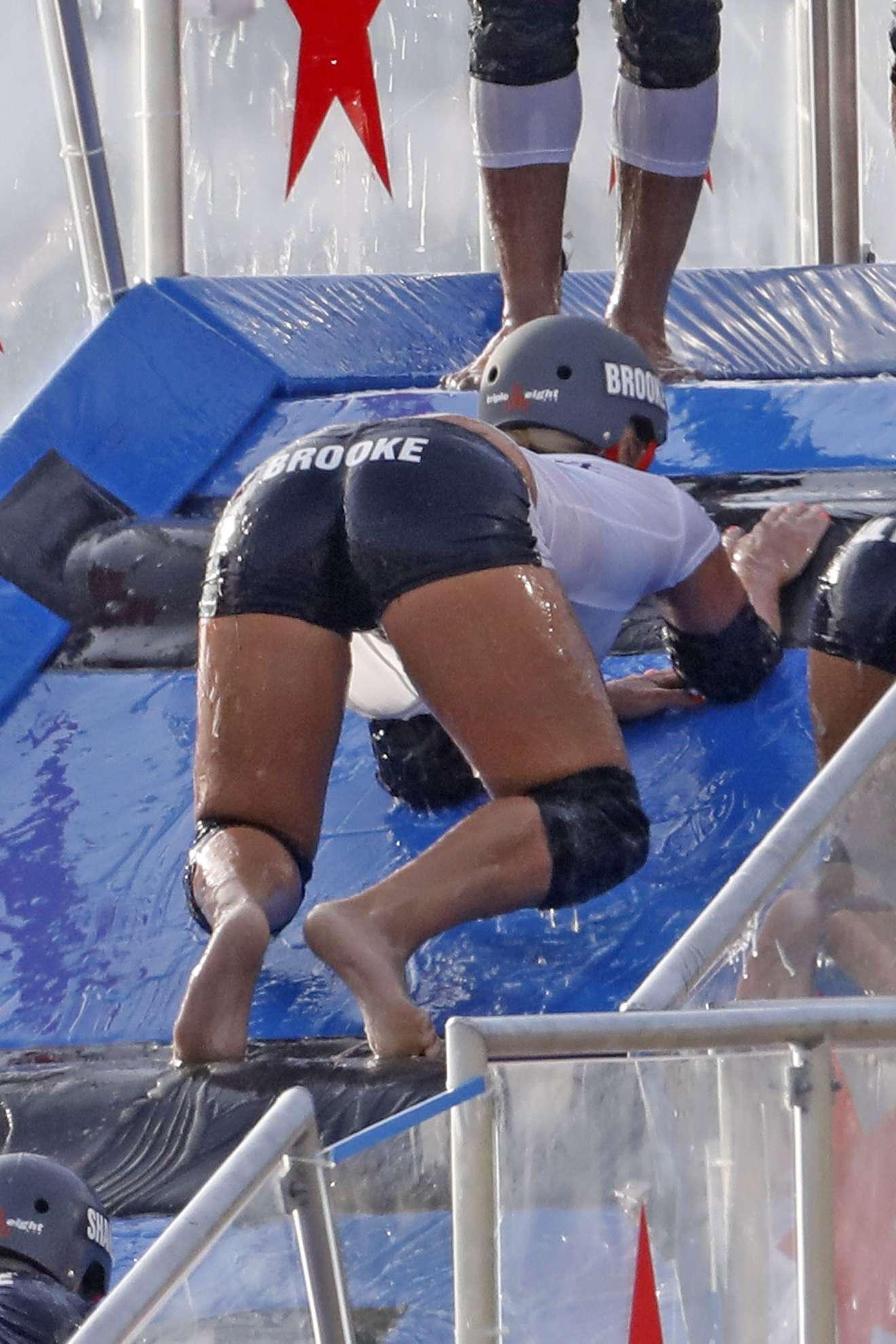 Brooke Hogan 2018 : Brooke Hogan: Champs vs Stars Set in Los Angeles -26