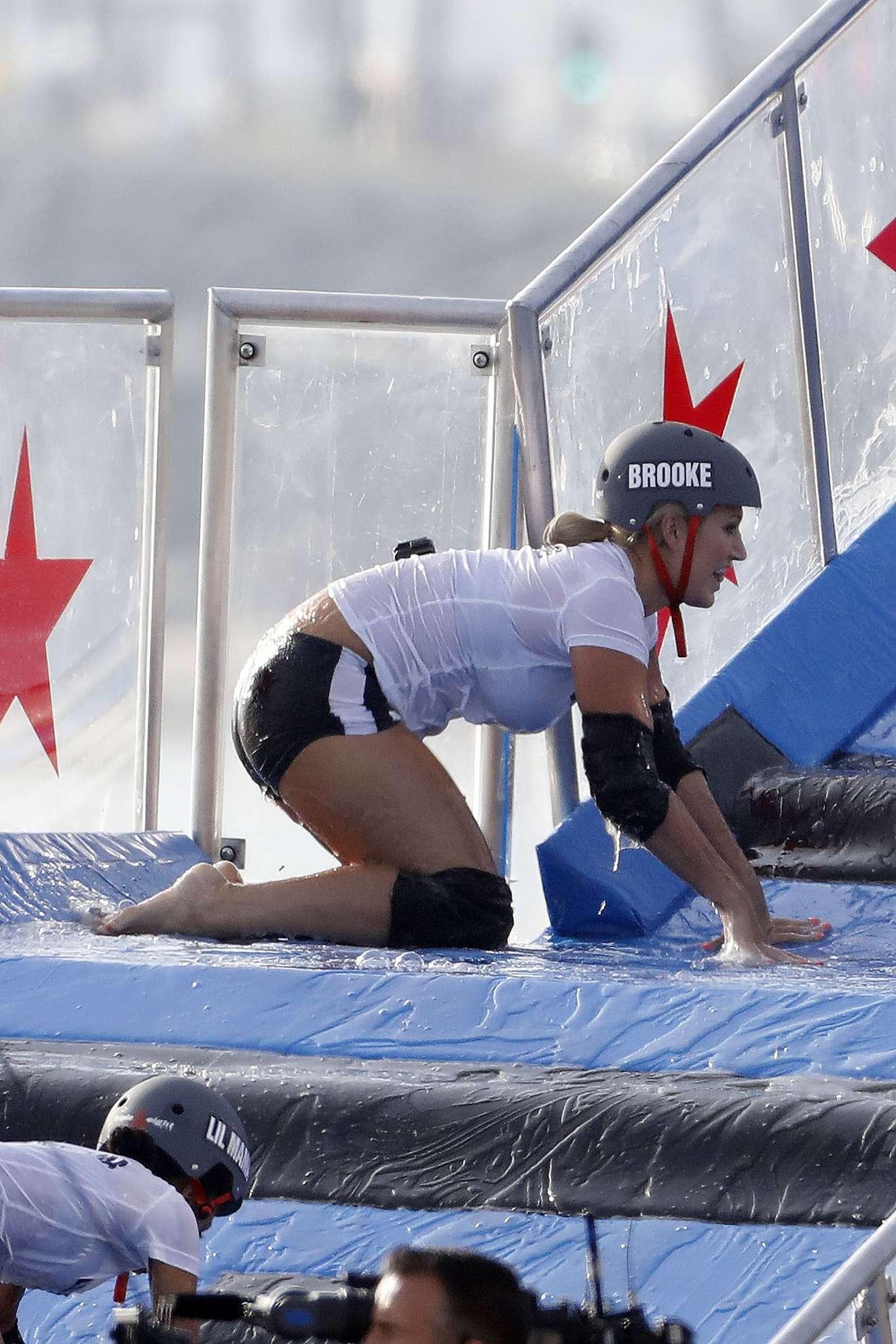 Brooke Hogan 2018 : Brooke Hogan: Champs vs Stars Set in Los Angeles -28