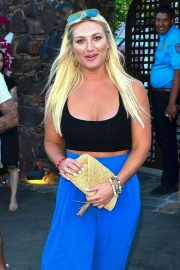 Brooke Hogan - Leaving the Ciroc Summer House Coachella Party in Palm Springs