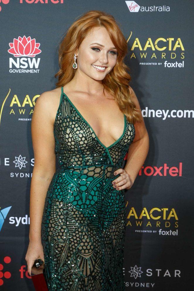 Brooke Nichole Lee - 2017 AACTA Awards in Sydney