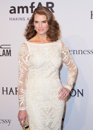 Brooke Shields - amfAR New York Gala 2015