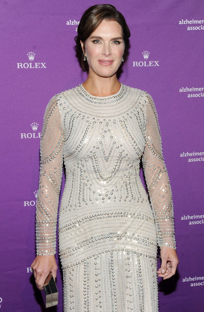 Brooke Shields - Alzheimer's Association 32nd Annual Rita Hayworth Gala in NYC