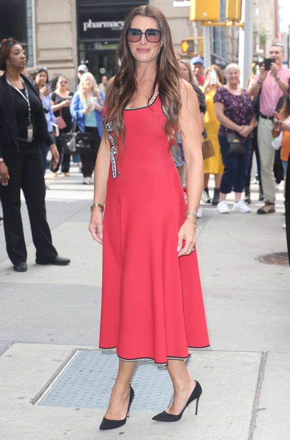 Brooke Shields - Arrives at Build Series in New York