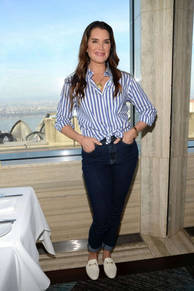Brooke Shields - Brooke Shields Timeless Qvc Clothing Line Launch Party in NY
