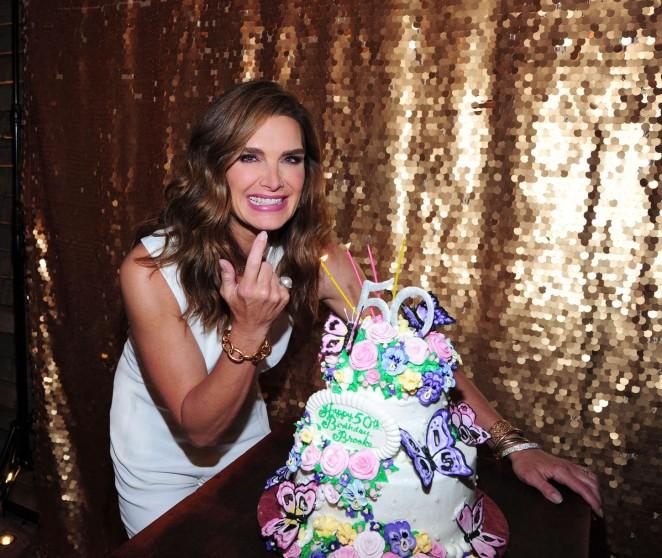 Brooke Shields: Celebrates Her 50th Birthday -10