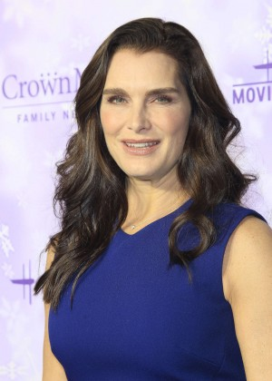 Brooke Shields - Hallmark Channel Party at the Winter TCA Tour in Pasadena