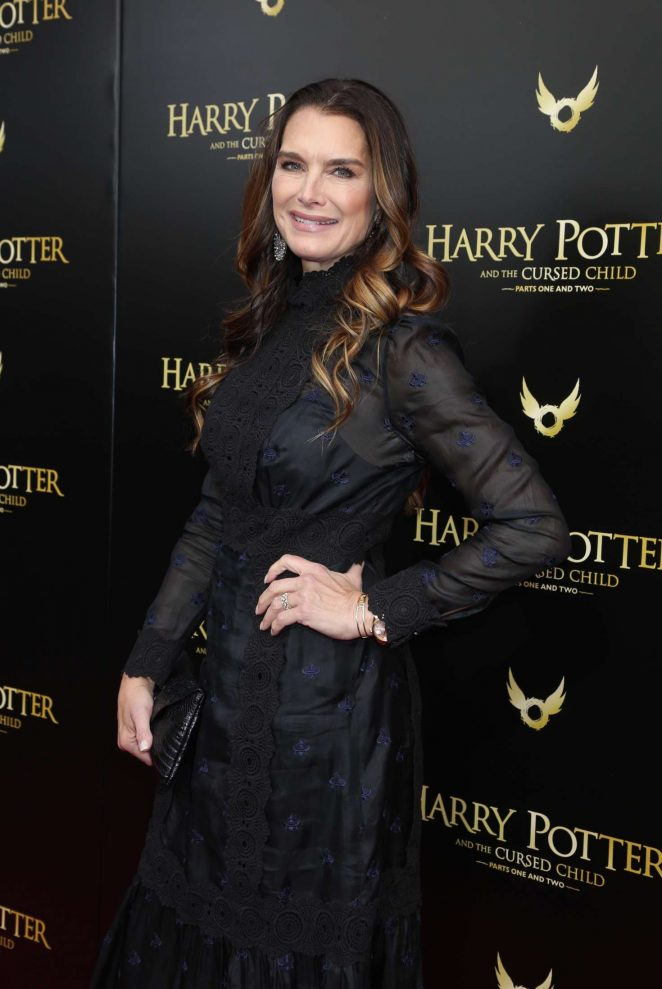 Brooke Shields - 'Harry Potter and the Cursed Child' Opening Day in NY