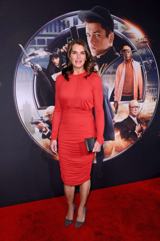 "Brooke Shields – ""Kingsman: The Secret Service"" Premiere in NYC"