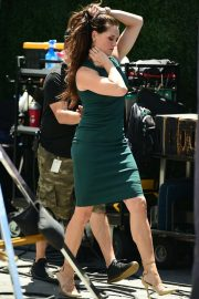 Brooke Shields - On EXTRA at Universal City