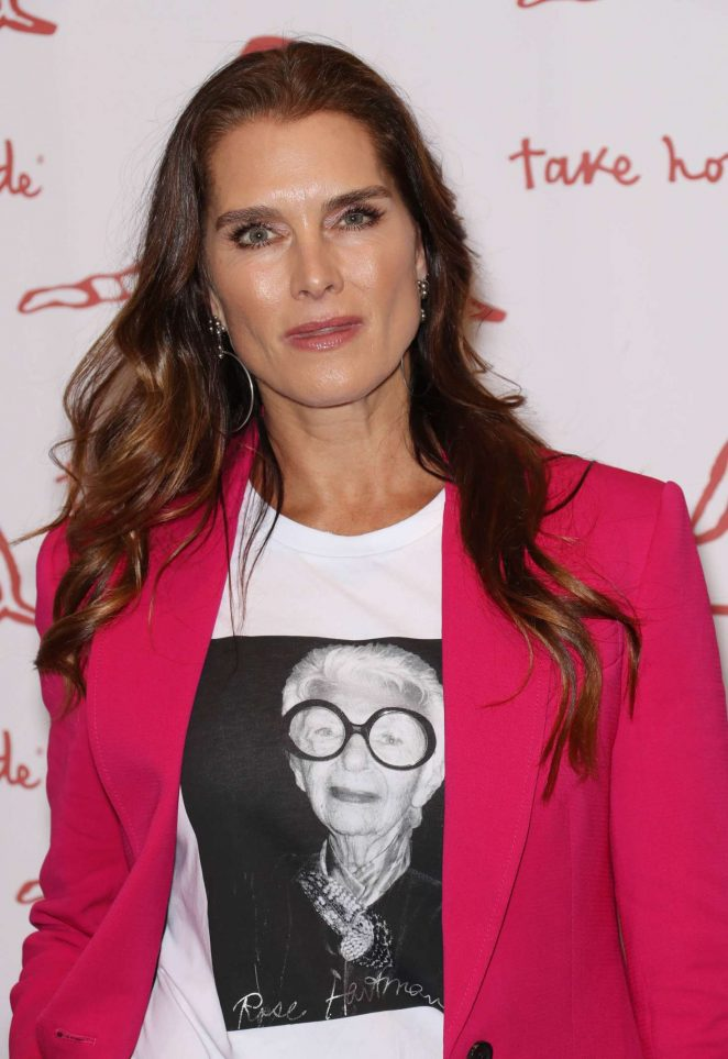Brooke Shields - Take Home a Nude Art Party and Auction New York Academy of Art Benefit