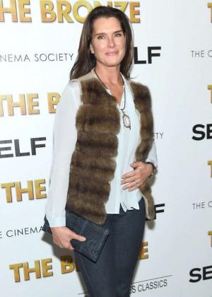 Brooke Shields - 'The Bronze' Screening in NYC