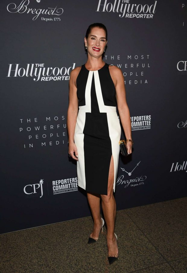 Brooke Shields - The Hollywood Reporter's 9th Annual Most Poweful People In Media in NY