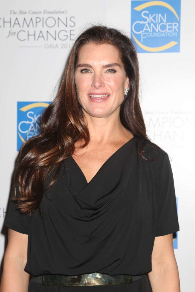 Brooke Shields - The Skin Cancer Foundation's 'Champions for Change' Gala in NY