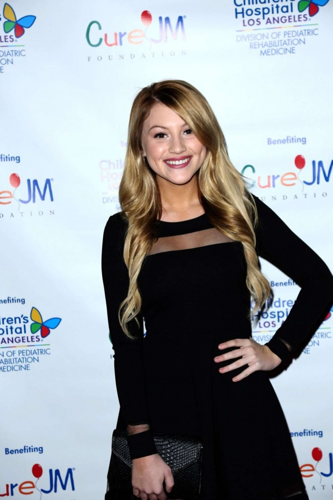 Brooke Sorenson - 2015 Children's Hospital Los Angeles Holiday Party and Toy Drive in Hollywood